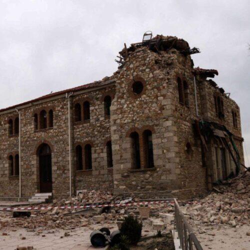 Το έδαφος καταβυθίστηκε κατά 39 εκατοστά μετά τον σεισμό της Ελασσόνας