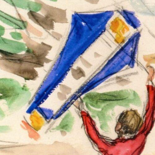 Πίνακες διάσημων ζωγράφων με θέμα το χαρταετό