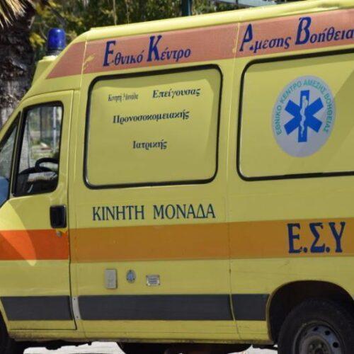 Κιλκίς: Ανατροπή ΙΧ και θανάσιμος τραυματισμός του 86χρονου οδηγού