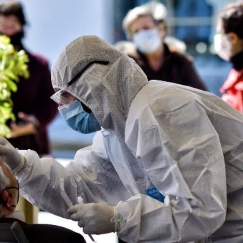 ΕΟΔΥ: 3062 τα νέα κρούσματα, 67 οι θάνατοι, 699 οι διασωληνωμένοι - 22 τα νέα κρούσματα στην Ημαθία