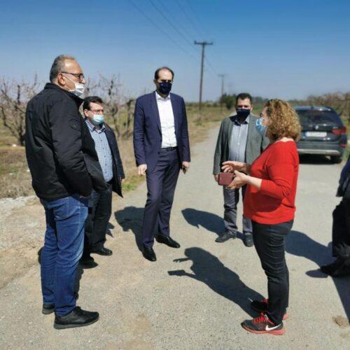 """Απ. Βεσυρόπουλος: """"Ξεκινά άμεσα η καταγραφή των ζημιών από τον παγετό"""""""