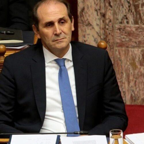 Η θέση του Υφ. Οικονομικών Απ. Βεσυρόπουλου  για το νέο πακέτο μέτρων οικονομικής στήριξης