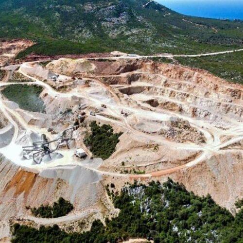 """ΚΚΕ: Συνεχίζει το έγκλημα η νέα σύμβαση μεταξύ ελληνικού δημοσίου και της εταιρίας """"Ελληνικός Χρυσός"""""""