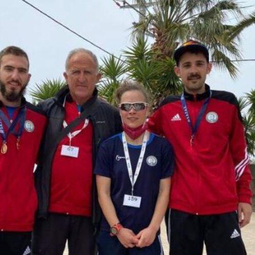 """Τρία μετάλλια για τους βαδιστές του ΟΚΑ """"Βικέλα"""" Βέροιας στο Πανελλήνιο Πρωτάθλημα 20 χιλιομέτρων"""