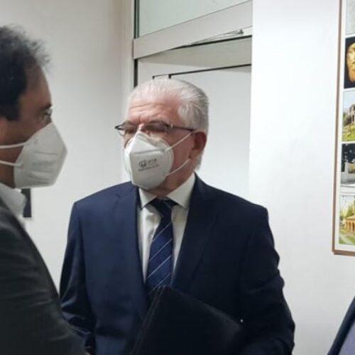 Συμμετοχή του Δημάρχου Βέροιας στην ευρεία σύσκεψη υπό τον πρόεδρο του ΕΛΓΑ