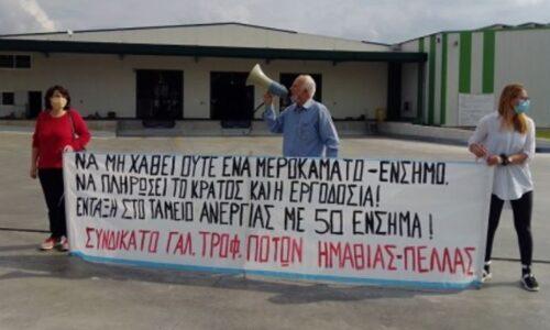 Κάλεσμα Συνδικάτου Γάλακτος Ημαθίας - Πέλλας για την Πρωτομαγιά
