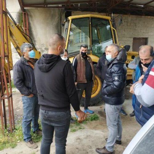 Λάζαρος Τσαβδαρίδης: Ενημέρωση των πληγέντων από τους παγετούς παραγωγών στα χωριά του Δήμου Νάουσας