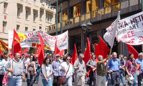 ΜΛ-ΚΚΕ: Πανεργατικός αγώνας ενάντια στο απάνθρωπο καπιταλιστικό  σύστημα που φέρνει πείνα, πόλεμο, θάνατο