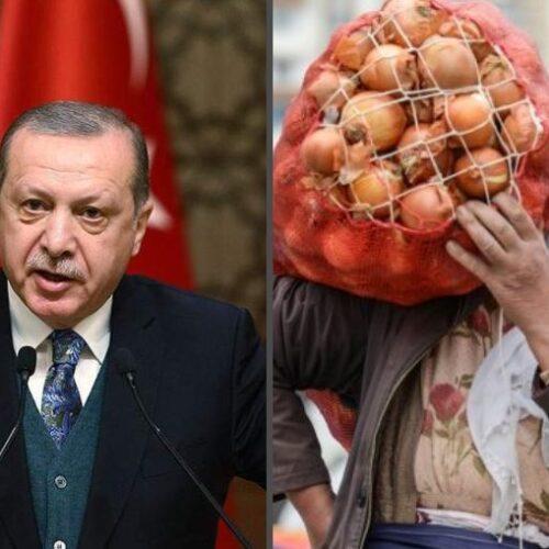 Πατάτες μοίρασε ο Ερντογάν! Ακολουθούν... κρεμμύδια! - Ο λαός του δυστυχεί, αυτός στη χλιδή!