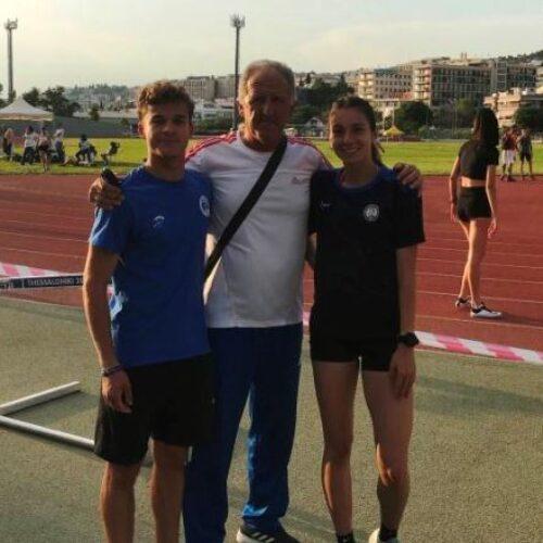 """Πρώτη στα 800 μέτρα γυναικών στα """"Σπανίδεια"""" η Βεροιώτισσα Ελένη Ιωαννίδου"""