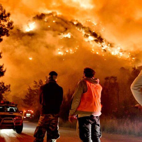 """""""Η φωτιά αγαπά τα μεσογειακά κλίματα"""" γράφει η Ειρήνη Δασκιωτάκη"""