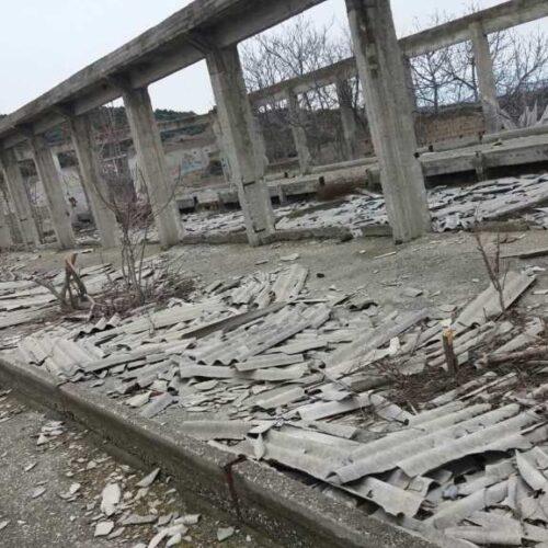 Οικολογική Ομάδα Βέροιας: Υγειονομική βόμβα στη Βέροια, παλαιοί στάβλοι από αμίαντο
