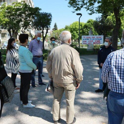 Βέροια: Τιμήθηκε η 9η Μάη, Ημέρα Αντιφασιστικής Νίκης των Λαών, από το Παράρτημα ΠΕΑΕΑ-ΔΣΕ