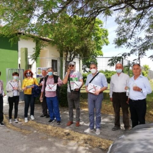 Κλιμάκιο του ΣΥΡΙΖΑ Ημαθίας επισκέφτηκε την Κοινοπραξία ΑΛΜΜΕ στην Κουλούρα