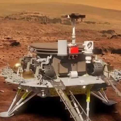 """""""Νιχάου Άρη"""": Η Κίνα προσεδάφισε ρομπότ στον κόκκινο πλανήτη"""
