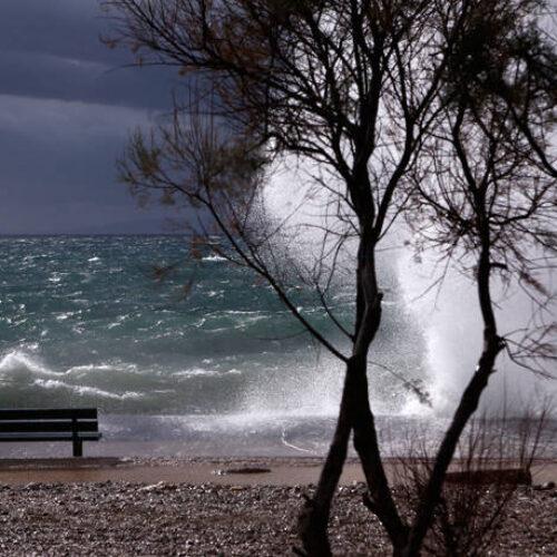 ΕΜΥ: Πρόσκαιρη επιδείνωση του καιρού - Θυελλώδεις άνεμοι / Ισχυρές βροχές στη βορειοανατολική χώρα
