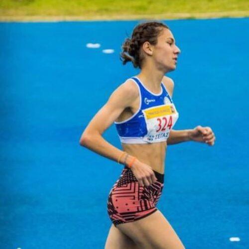 Στο Βαλκανικό Πρωτάθλημα Εφήβων η βεριώτισσα πρωταθλήτρια Ελένη Ιωαννίδου