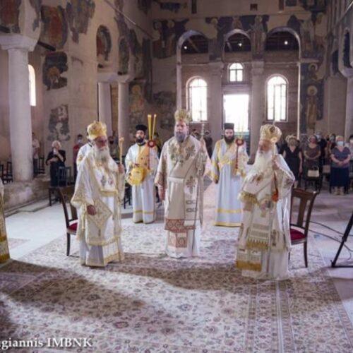 Με λαμπρότητα εορτάζει η Βέροια, τον ιδρυτή της τοπικής Εκκλησίας, Απόστολο των Εθνών Παύλο / Πολυαρχιερατικό Συλλείτουργο