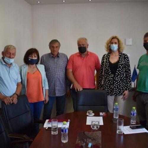 Επίσκεψη της Φρ. Καρασαρλίδου σε συνεταιρισμούς της Νάουσας