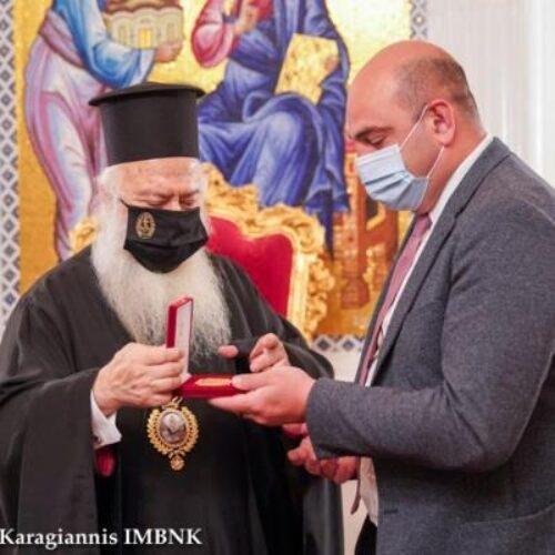 Ο Γενικός Πρόξενος της Γεωργίας στον Μητροπολίτη Βέροιας