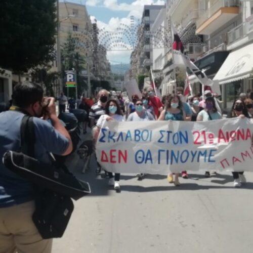 Βέροια / ΠΑΜΕ: Το απεργιακό μέτωπο δε θα σταματήσει αν δε καταργηθεί το κυβερνητικό τερατούργημα