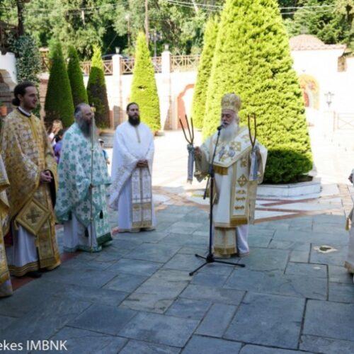 Μητρόπολη Βέροιας: Υπαίθρια Θεία Λειτουργία για τους μαθητές, Κυριακή 13 Ιουνίου