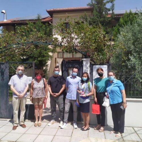 Επίσκεψη της Γενικής Προξένου των ΗΠΑ στην Βεργίνα