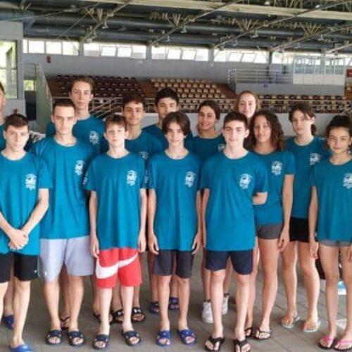 """14 Μετάλλια για την Κολυμβητική Ακαδημία """"ΝΑΟΥΣΑ"""" σε Πανελλήνιο Πρωτάθλημα"""