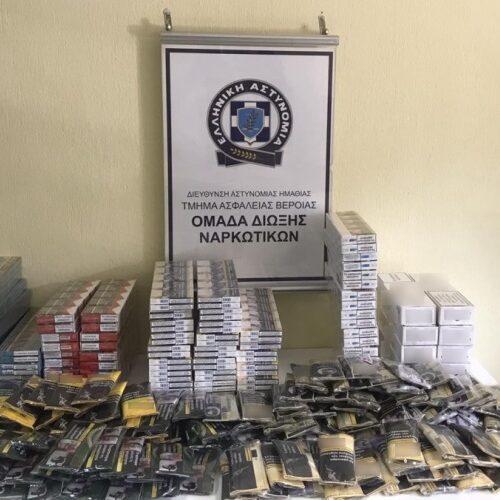 Βέροια: Σύλληψη για λαθραία τσιγάρα και καπνό