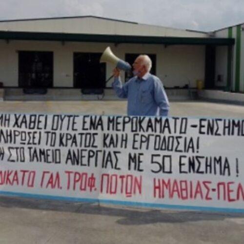 Γενική Συνέλευση του Συνδικάτου Γάλακτος Ημαθίας - Πέλλας, Σάββατο 3 Ιούλη