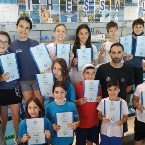 """Κολυμβητική Ακαδημία """"Νάουσα"""":  Επιτέλους αγωνιστική δράση για τα μικρά δελφίνια μας"""