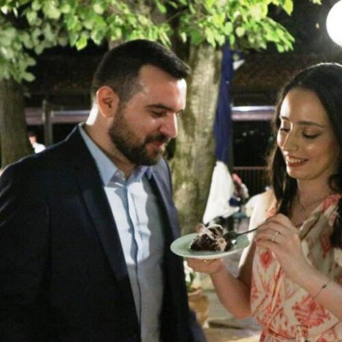 Ελένη και Γιάννης / Οι γάμοι του κορωνοϊού βρίσκουν πάντα το χρόνο να γιορταστούν!