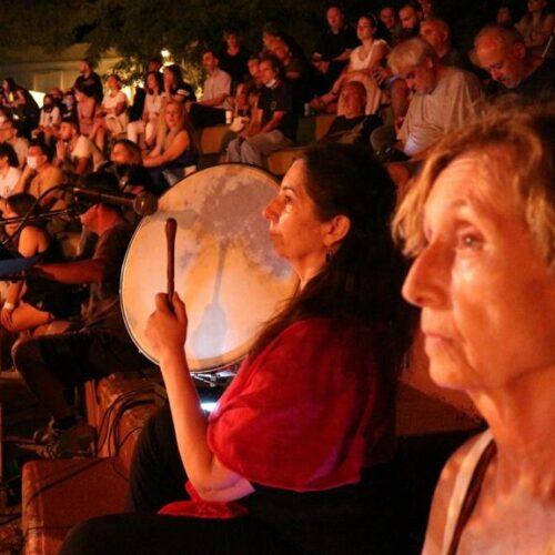 """Λιτόχωρο / Ο """"Θούριος του Ρήγα"""". Μια  εντυπωσιακή προσέγγιση από την ομάδα μελέτης αρχαίας όρχησης του θεάτρου Δόρα Στράτου"""