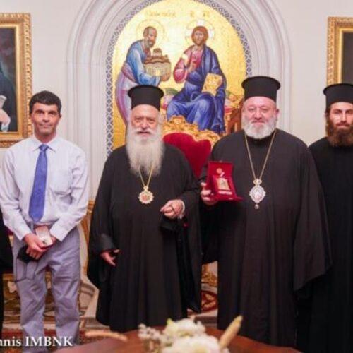 Επίσκεψη του Μητροπολίτη Margveti και Ubisa, Μελχισεδέκ, από το Πατριαρχείο Γεωργίας στον Μητροπολίτη Βέροιας