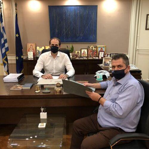 Συνάντηση με τον Απόστολο Βεσυρόπουλο είχε ο Κώστας Καλαϊτζίδης
