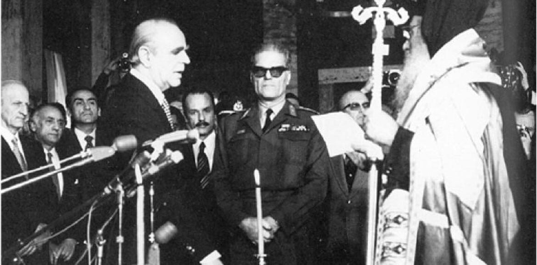 24 Ιουλίου 1974 Μεταπολίτευση: Ένας συμβιβασμός υπό το φόβο του λαού