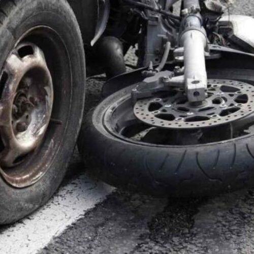 Θανάσιμος τραυματισμός οδηγού μοτοσυκλέτας, ύστερα από σύγκρουση με ΙΧ