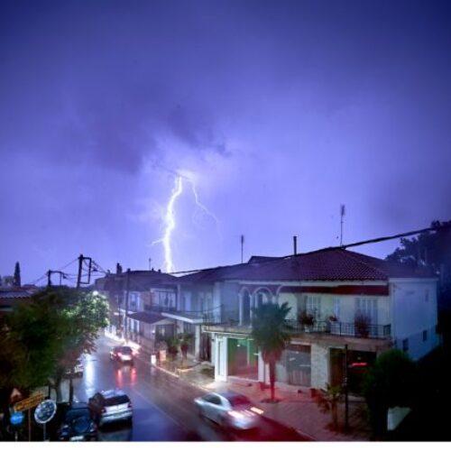 ΕΜΥ / Έκτακτο Δελτίο Επιδείνωσης Καιρού: Αναμένονται τοπικά ισχυρές καταιγίδες και άνεμοι