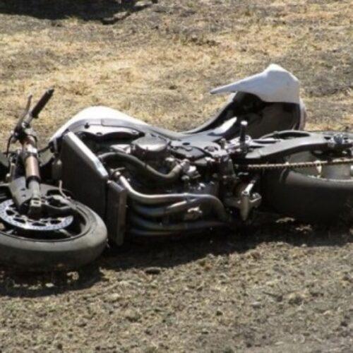 Θανάσιμος τραυματισμός 65χρονου από ανατροπή μοτοσικλέτας