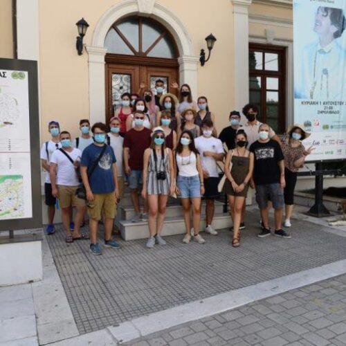 Στον Δήμαρχο Βέροιας η ομάδα νέων της Κίνησης Πολιτών Κυριώτισσας