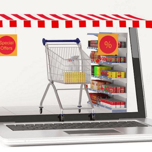 Oι διαδικτυακές αγορές από σούπερ μάρκετ δεκαπλασιάστηκαν σε έναν χρόνο