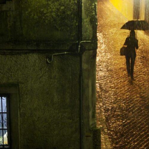 """Οδυσσέας Ελύτης """"Με την πρώτη σταγόνα της βροχής"""" / Μεγάλος Ερωτικός - Μάνος Χατζιδάκις - Δημήτρης Ψαριανός"""