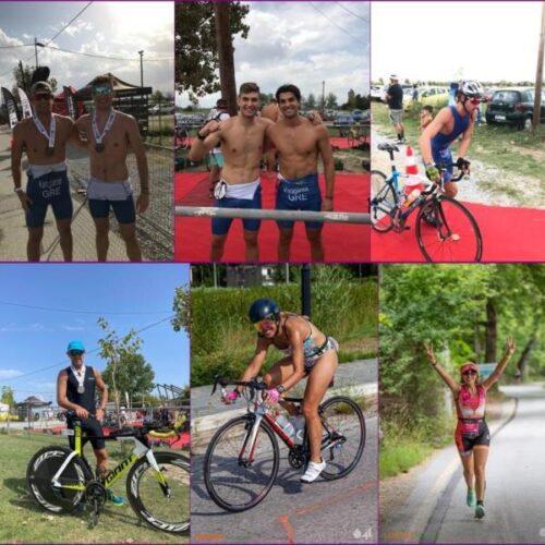 Almira triathlon / Τα αποτελέσματα για τον Σύλλογο δρομέων Βέροιας