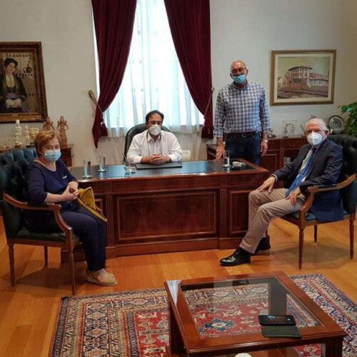 Συνάντηση του Δημάρχου Βέροιας με τον Πρόεδρο του ΕΛΓΑ