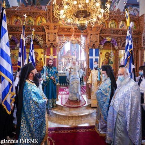 """Μητρόπολη Βέροιας: """"Εορτάστηκε η 109η επέτειος της απελευθερώσεως της Χαλάστρας"""""""