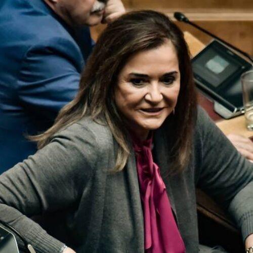 """Ντόρα Μπακογιάννη: """"Δεν θα το βάλω κάτω - Θα δώσω κι αυτήν την μάχη"""""""
