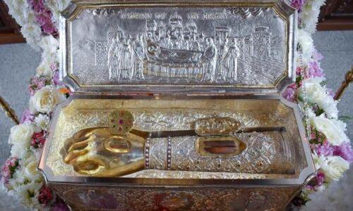 """Μητρόπολη Βέροιας: """"Τεμάχιο Ι. Λειψάνου του Αγίου Μεγαλομάρτυρος Δημητρίου την Τρίτη 26 Οκτωβρίου στην Παναγία Δοβρά"""""""