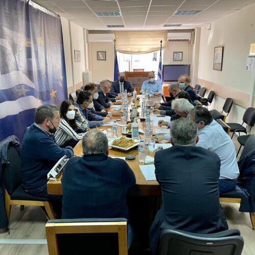 Συνάντηση στο Υπουργείο Οικονομικών με εκπροσώπους του επιχειρηματικού και του αγροτικού κόσμου της Ημαθίας και της Πέλλας