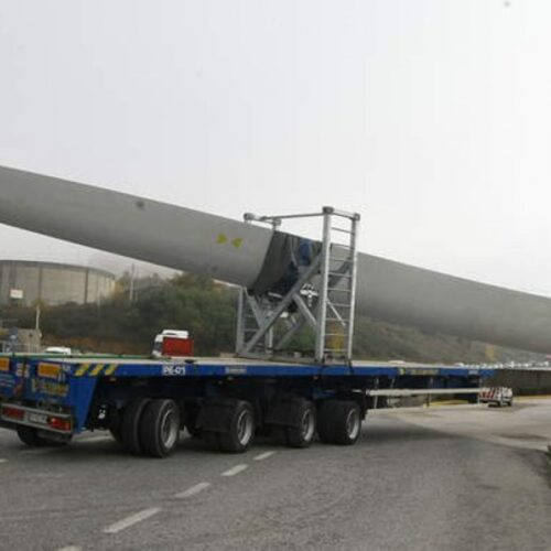 Κυκλοφοριακές ρυθμίσεις στην Εγνατία Οδό στην Ημαθία, λόγω διέλευσης συρμού υπερμεγεθών φορτηγών